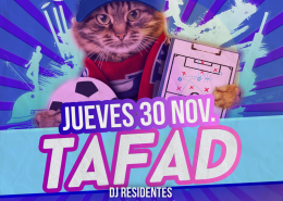 Fiesta universitaria TAFAD