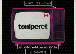 Toni Peret sesión nochenteo