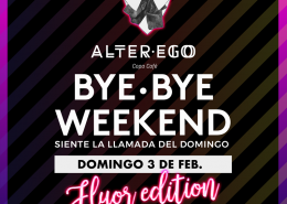 Bye Bye Weekend fluor edition