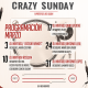 Programación crazy sunday