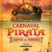 Carnaval Pirata en Luminata Disco