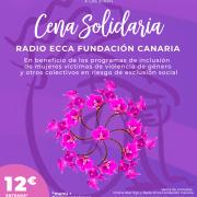 Cena solidaria radio ECCA