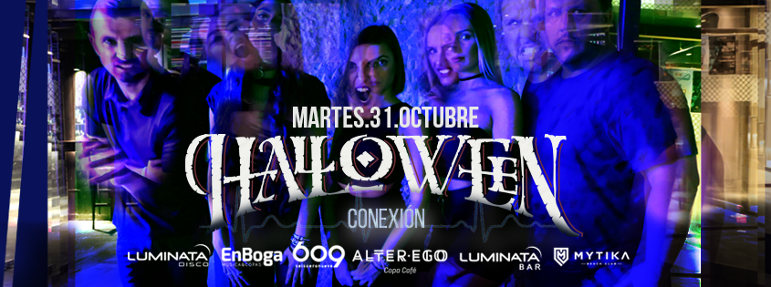 Halloween en Luminata Disco