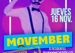 Luminata Disco - movember