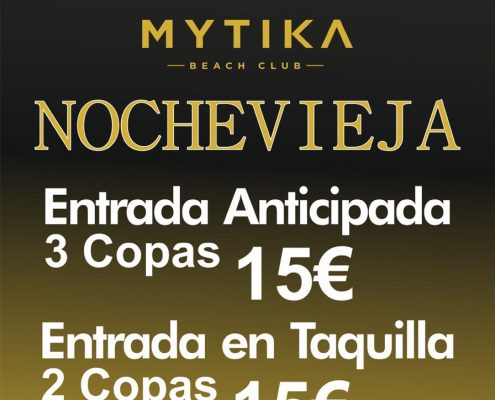 Mytika Beach Club Nochevieja