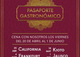 Pasaporte gastronómico