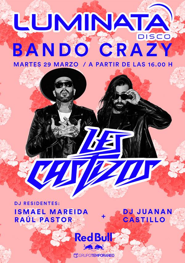 bando-crazy-les-castizos-luminata-disco