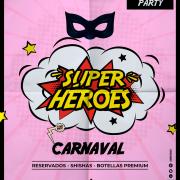 Carnaval superhéroes Murcia