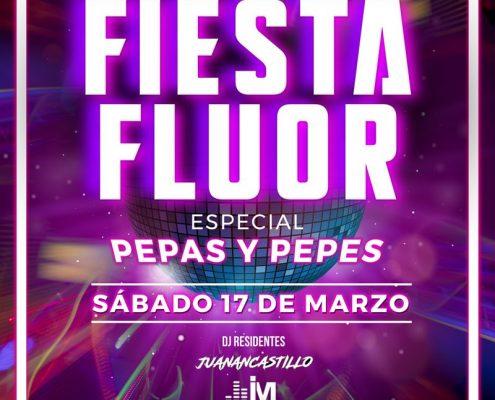 Fiesta Flúor en Luminata Disco