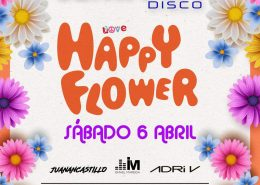 Happy Flower en Luminata Disco